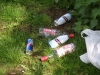 Drinks party litter