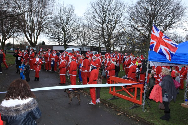 Santa Dash 2011