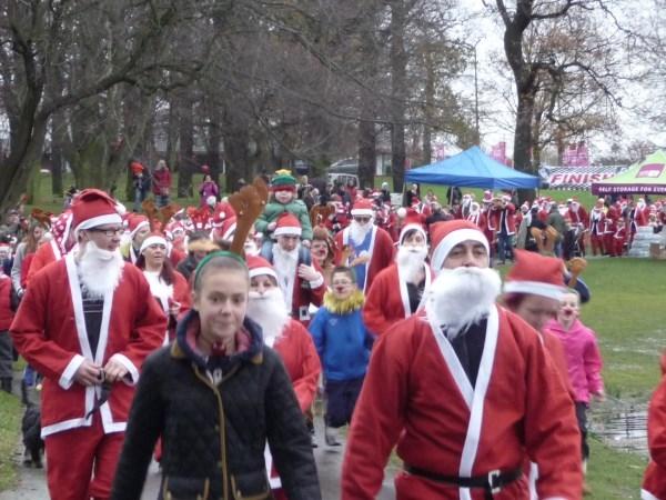 Santa Dash - Carol Burton