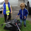 The youngest litter pickers in town