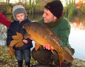 youngster-and-carp